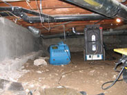 Crawl Space Drying